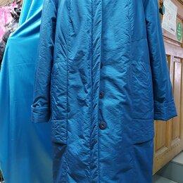 Пальто - Пальто женское зимнее из курточной ткани, воротник - натуральный песец 54-56 р-р, 0