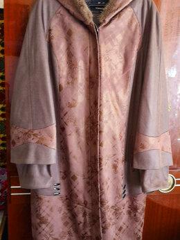 Пальто - Пальто женское новое с капюшоном 52 размер, 0
