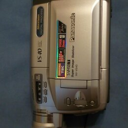Видеокамеры - Видеокамера Panasonic Slim Vision VS 40 , 0