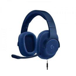 Компьютерные гарнитуры - Игровая гарнитура Logitech G433 Blue, 0