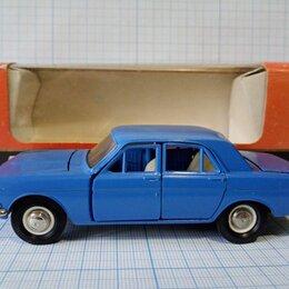 Модели - А14 ГАЗ 24(01) синий коробка 1:43 без МИ металл, 0