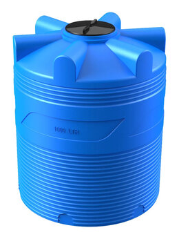 Баки - Бак 1000 л для питьевой воды с крышкой., 0
