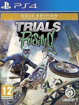 Игры для приставок и ПК - Видеоигра Trials Rising Gold Edition (PS4), 0