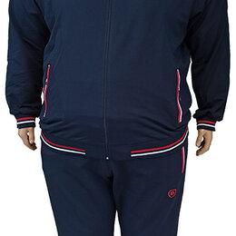 Спортивные костюмы - Большого размера мужской спортивный костюм с капюшоном, 0