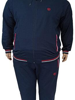 Спортивные костюмы - Большого размера мужской спортивный костюм с…, 0