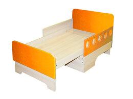 Кроватки - Детская раздвижная кровать Вырастайка с матрацем, 0