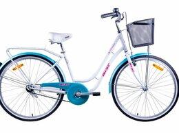 """Велосипеды - Городской женский велосипед """"Авеню"""" бело -…, 0"""