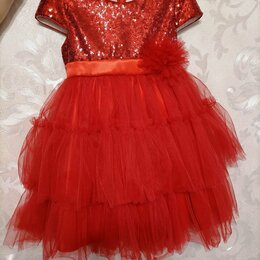 Платья и сарафаны - Платье нарядное детское, 0