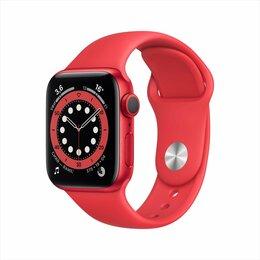 Умные часы и браслеты - Смарт-часы Apple Watch Series 6 GPS 40mm Red, 0