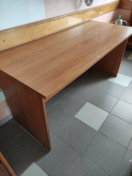 Компьютерные и письменные столы - Стол офисный большой размер на фото в отличном…, 0