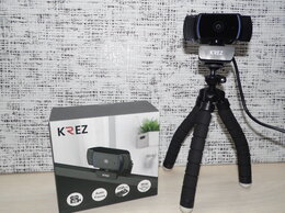 Веб-камеры - Веб камера Krez HD 1080, 0