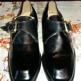 Туфли - Туфли чёрные новые, 0