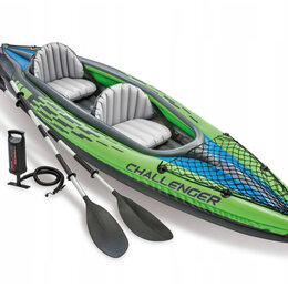 Надувные, разборные и гребные суда - Надувная лодка двухместная надувная байдарка каяк , 0