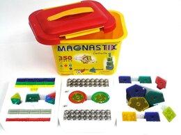 Конструкторы - Магнитный конструктор Magnastix 350 деталей, 0