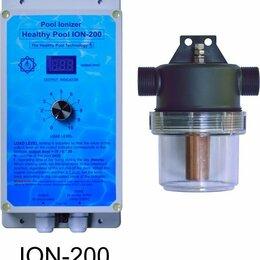 Фильтры, насосы и хлоргенераторы - Очиститель воды для бассейна ионизатор Healthy Pool ION-200, 0