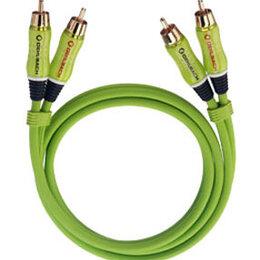 Кабели и разъемы - Межблочный кабель Oehlbach 0,5 метра RCA-RCA , 0