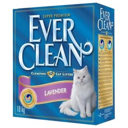 Наполнители для туалетов - Ever Clean Lavander 10 кг Наполнитель…, 0