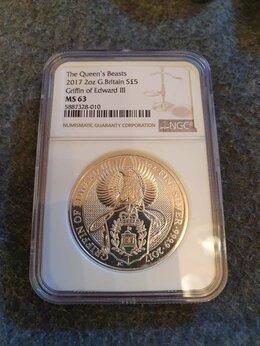 Монеты - Монета Гриффон. (в слабе NGC MS 63), 0