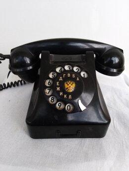 Проводные телефоны - Телефонный аппарат цб-491/Б/1,5 Сделано пнр 1962г, 0