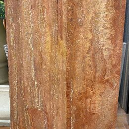 Плитка из керамогранита - Травентин Красный, 0