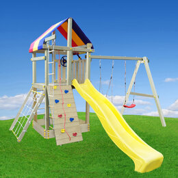 Игровые и спортивные комплексы и горки - Детская площадка, 0