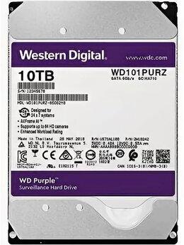 Внутренние жесткие диски - HDD диск WD Purple WD101PURZ 10 ТБ , 0