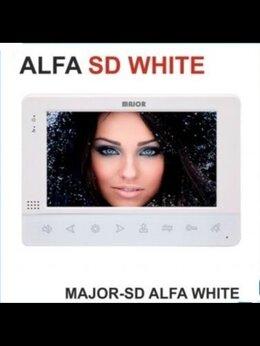 Домофоны - Видеодомофон 7 дюймов MAJOR ALFA WHITE SD, 0