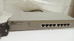 Проводные роутеры и коммутаторы - Коммутатор Allied Telesis AT-FS708 на 8 портов, 0