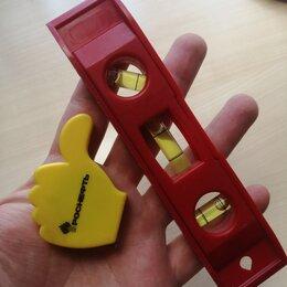 Измерительные инструменты и приборы - Уровень и рулетка миниатюрные. , 0