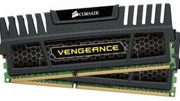 Модули памяти - DDR3 1600MHz PC3-12800 Corsair Vengeance 2х4gb, 0