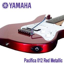 Электрогитары и бас-гитары - YAMAHA Pacifica 012 RM: Red Metallic…, 0