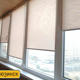 Римские и рулонные шторы - Свободновисящие рулонные шторы в Крымске, 0