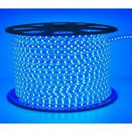 Светодиодные ленты - Светодиодная лента 220V. IP67. Цвет: Синий, 0