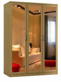 Шкафы, стенки, гарнитуры - шкаф Стелла-4 с зеркалами с доставкой! 💥 0344💥, 0