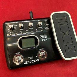 Процессоры и педали эффектов - Гитарный процессор Zoom G2.1Nu , 0