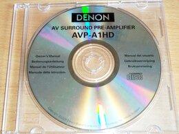 Усилители и ресиверы - Denon AVP-A1HD - оригинальный мануал на CD -…, 0