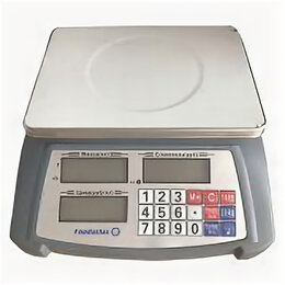 Весы - Торговые весы Foodatlas 30кг/1гр YZ-506, 0