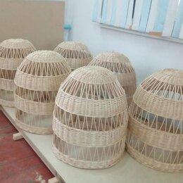 Люстры и потолочные светильники - Абажур плетеный светильник, 0