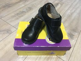 Ботинки - Новые ботинки на мальчика 26р. Нат. кожа, 0