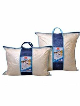 Подушки - Подушка «Лебяжий пух» 50*70 чехол сатин/тик…, 0