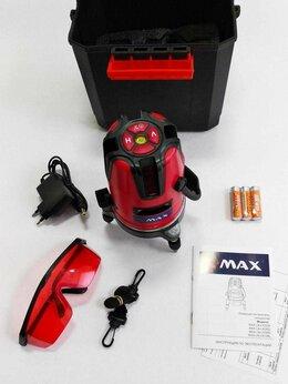 Измерительные инструменты и приборы - Лазерный Уровень Невелир 3 Луча, 0
