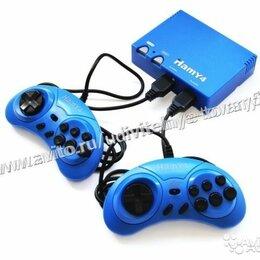 """Ретро-консоли и электронные игры - Sega - Dendy """"Hamy 4"""" (350-in-1) Gran Turismo Blue, 0"""