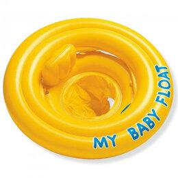 Спасательные жилеты и круги - INTEX Детский надувной круг для плавания с…, 0