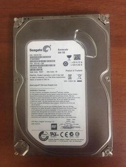 Внутренние жесткие диски - Жесткий диск 3.5 Sata Seagate 500Gb, 0