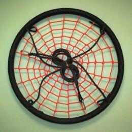 Качели - Качели гнездо-Хит D100см цвет чёрный/ оранжевый, 0