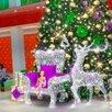 Световая фигура Олень (цвет на выбор) по цене 78050₽ - Новогодний декор и аксессуары, фото 1