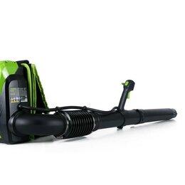 Воздуходувки и садовые пылесосы - Ранцевый Воздуходув, аккумуляторный Greenworks GD60BPB бесщеточный (без АКБ и..., 0