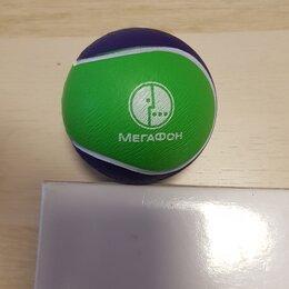 Игрушки  - Мяч, мячик резиновый, маленький, новый, 0