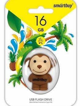USB Flash drive - USB 16GB Smart Buy Wild series Обезьяна, 0