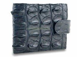 Кошельки - Брутальный мужской кошелек из кожи крокодила со…, 0